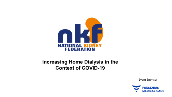 Watch our webinar on home dialysis in the context of Covid-19