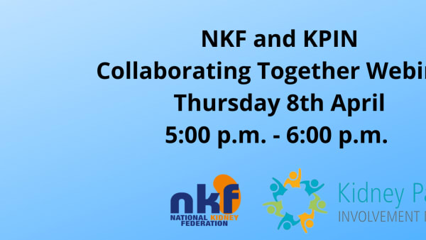 NKF and KPIN Collaborating Together