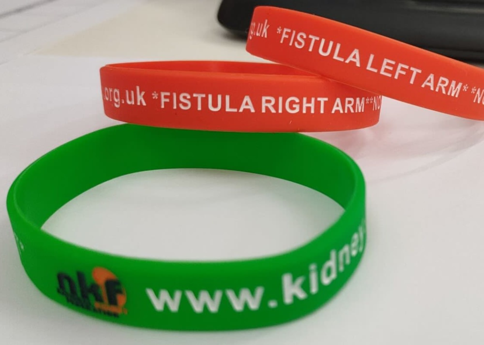 NKF Wrist Band Fistula left arm