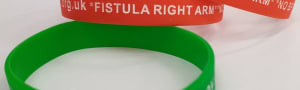 NKF Wrist Band Fistula right arm